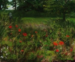 Summer Field of Poppies