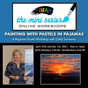Pastels in pajamas workshop